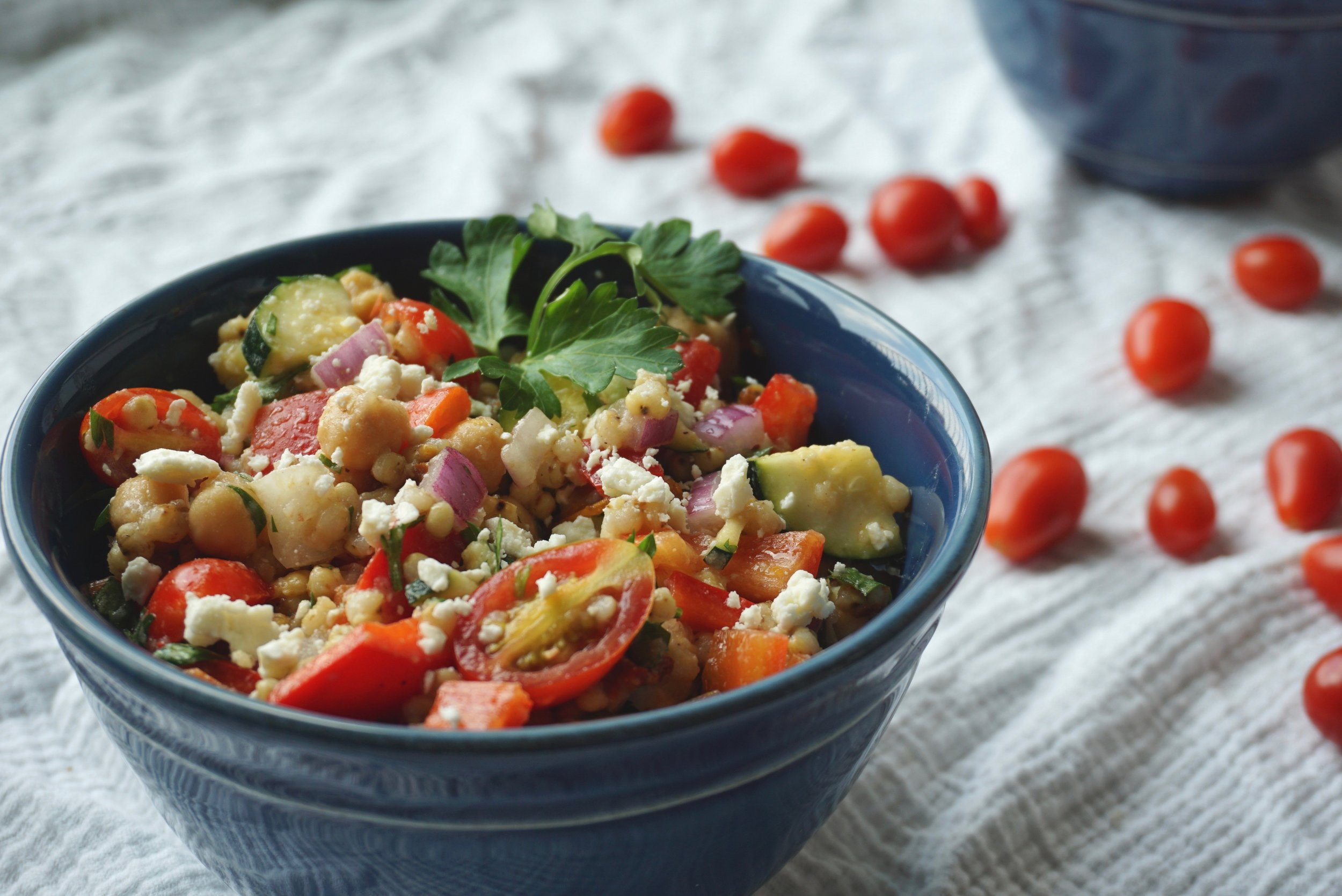 Mediterranean Whole Grain Salad