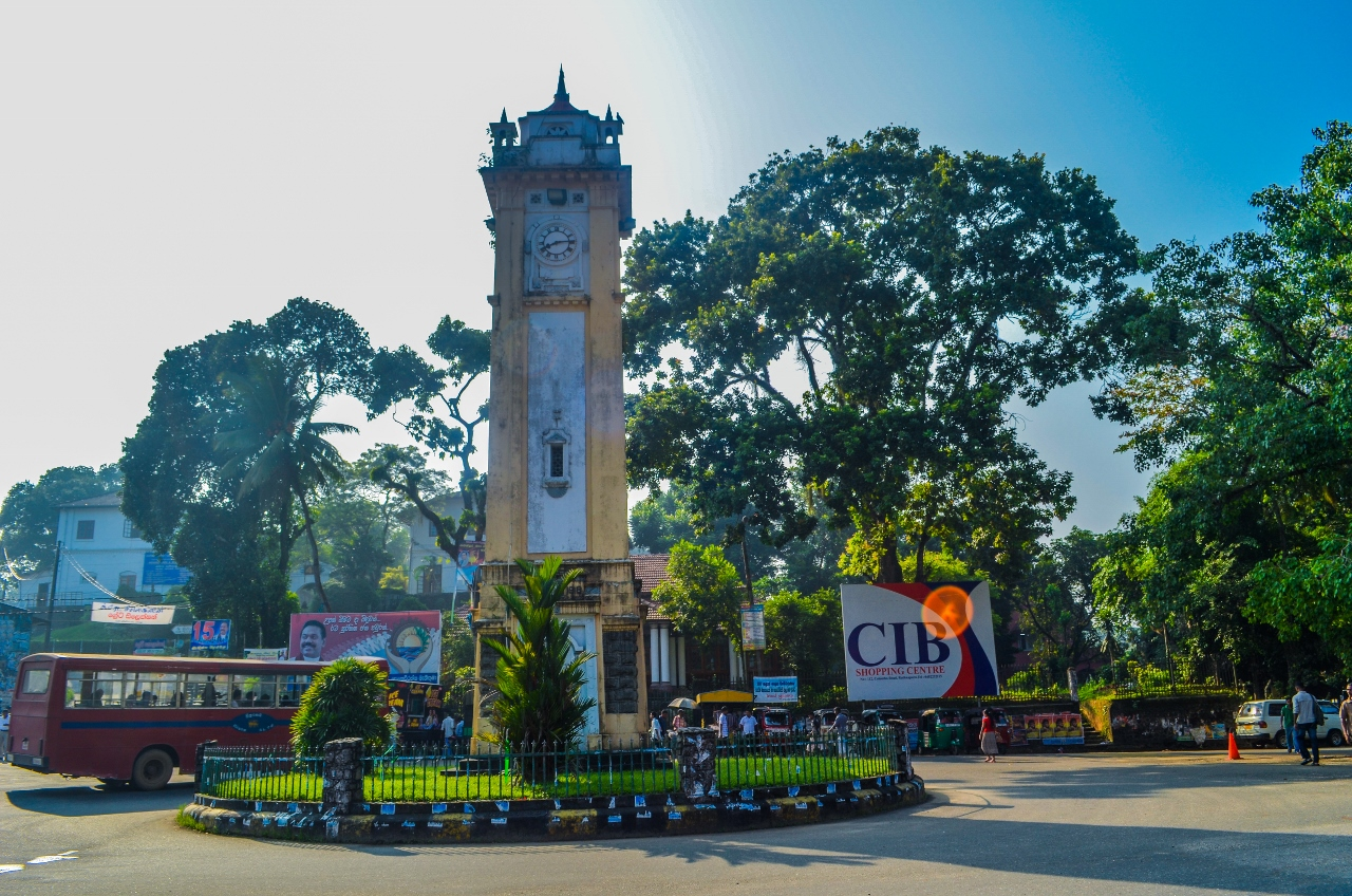 Ratnapura city square