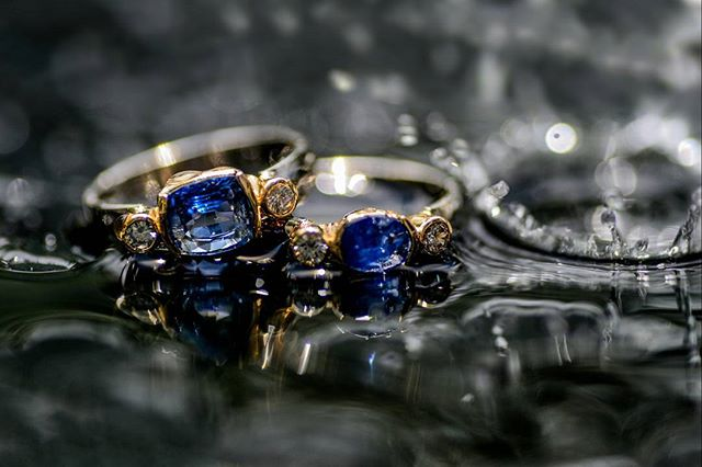 Shots from the failed live video I did earlier today. #productphotography #photography #BlueSapphire and #diamonds with yellow #gold and #platinum ring #handcrafted  in #ratnapura #srilanka . . . . . #gems #jewellery #jewelleryforsale #sapphirependent #engagementring #ethicaljewellery #ethicaljewelry #sapphiresareagirlsbestfriend #engagementring