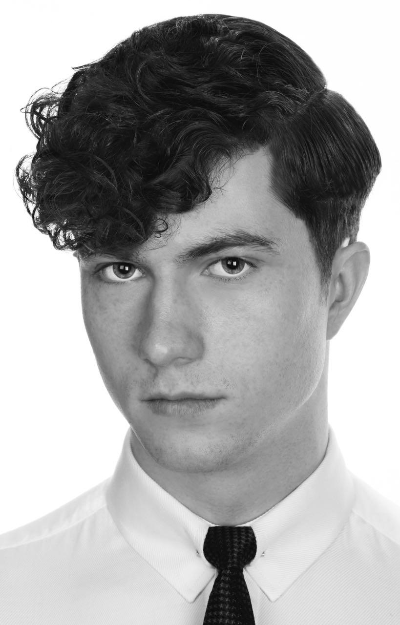 Men's textured fringe - Hair by Chris Foster