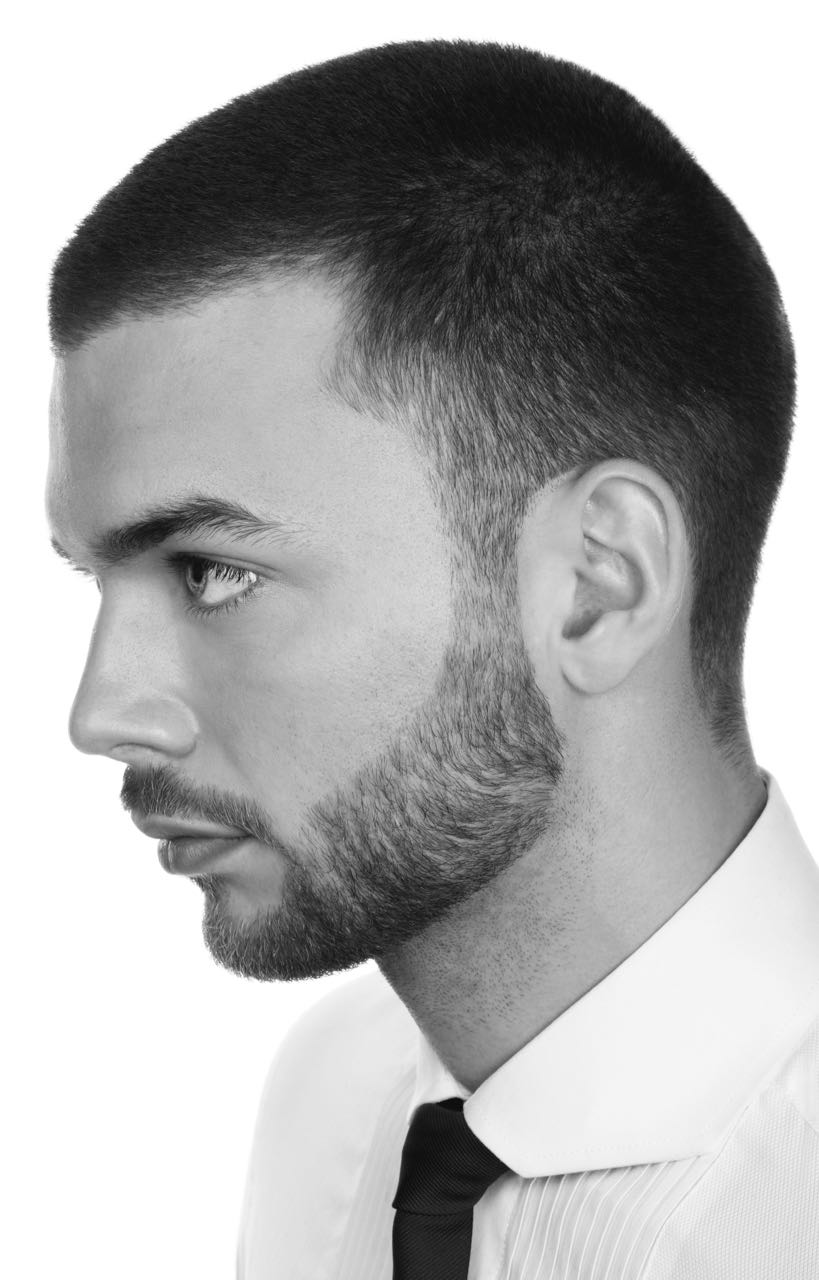 Men' Classic shaved head - Hair by Chris Foster