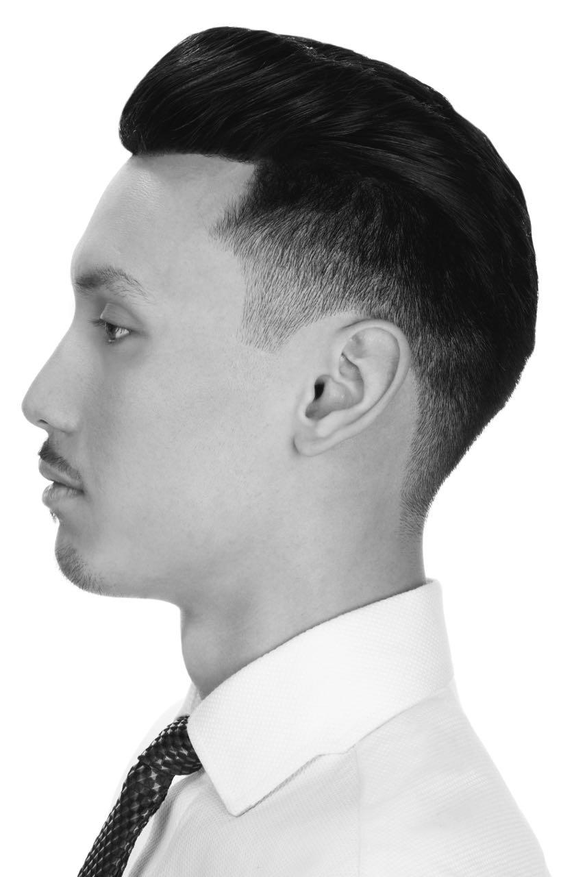 Classic 30's -50's quiff pompadour - Hair by chris foster