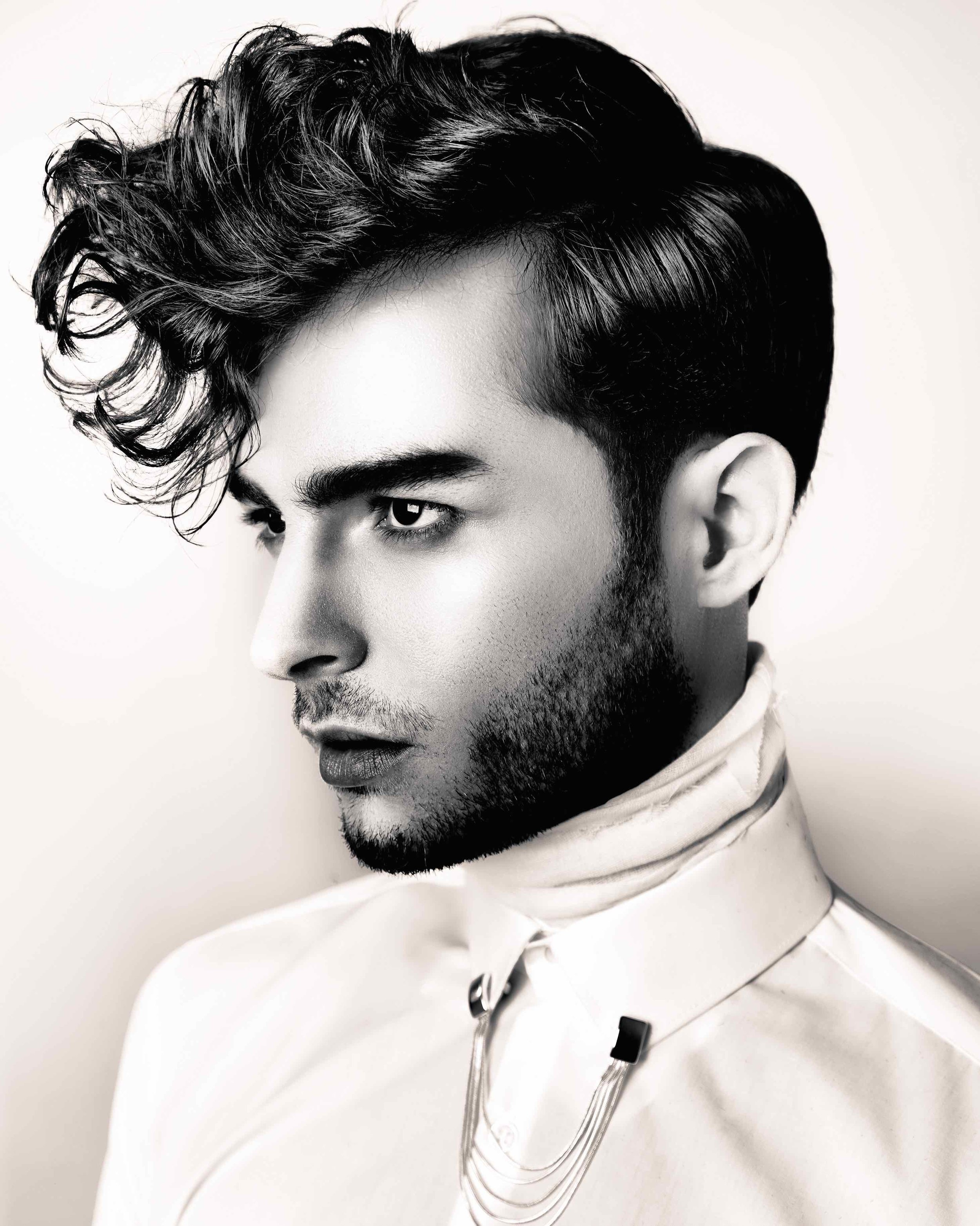 Short men's quiff -Hair by Chris foster