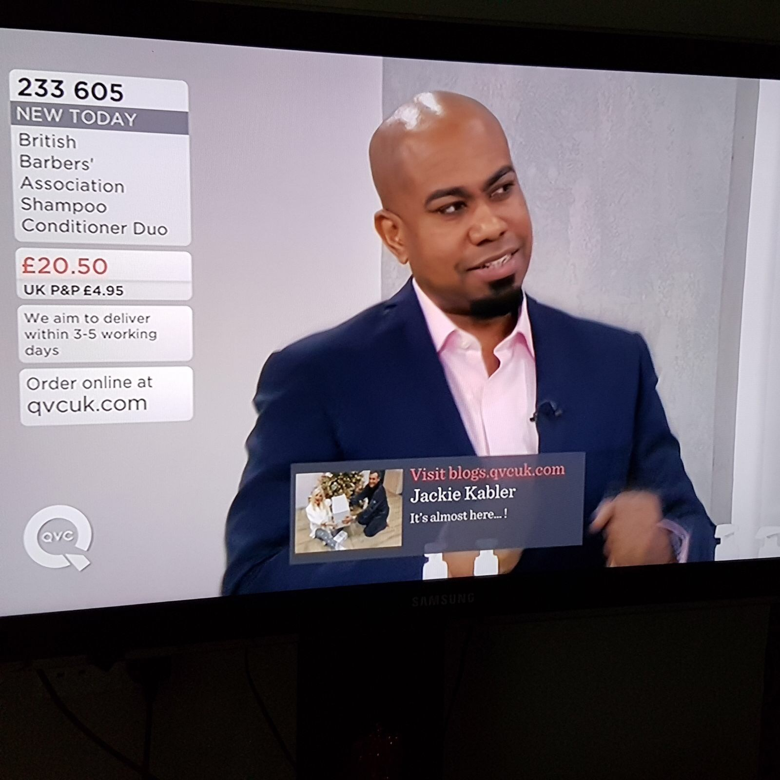 Chris Foster on QVC