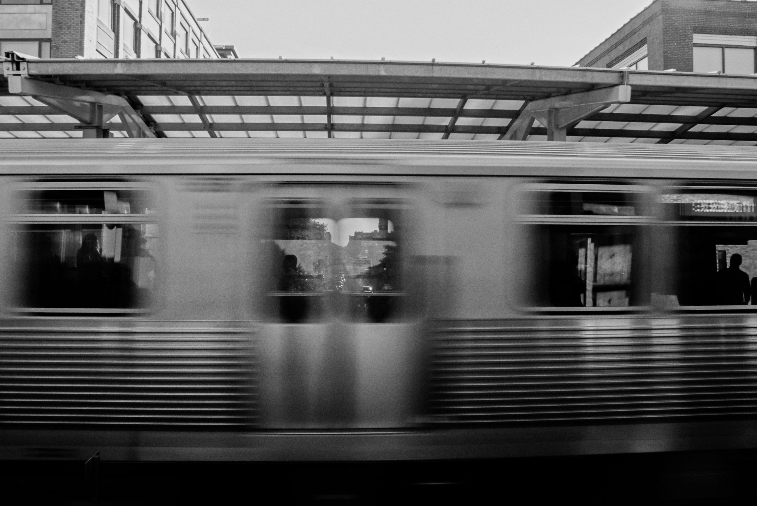 A3 Print (35MM)    Title: Transit    Location: Chicago, USA    Price: 100 Euros/150 Dollars (CAD) Plus shipping/handling
