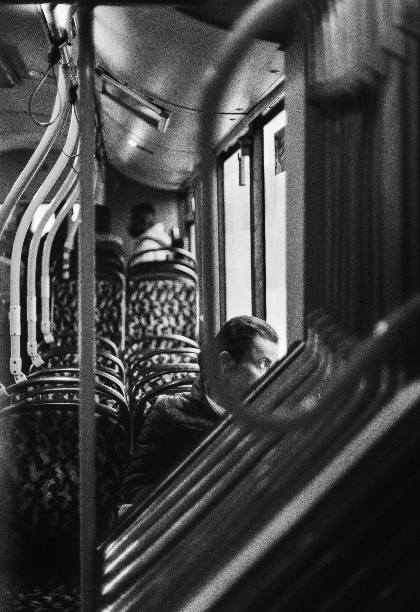 A Woman On The Bus