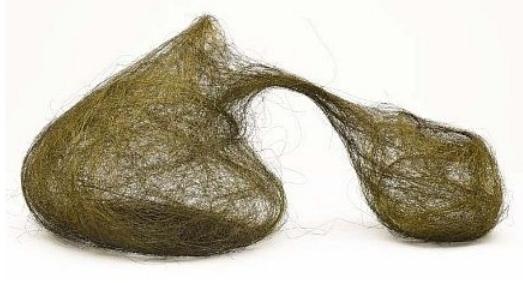 Judith Brust,1991, Brass Wire