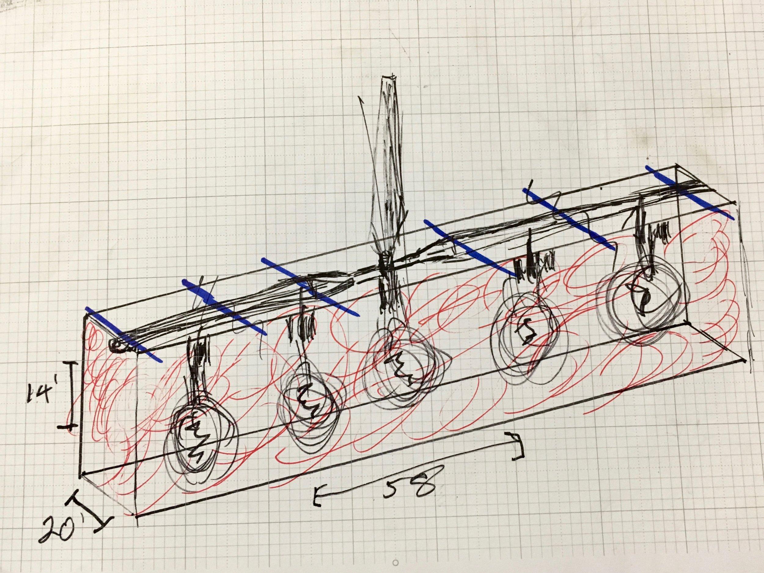 "Drawing for my ""Boston Edison"" design."