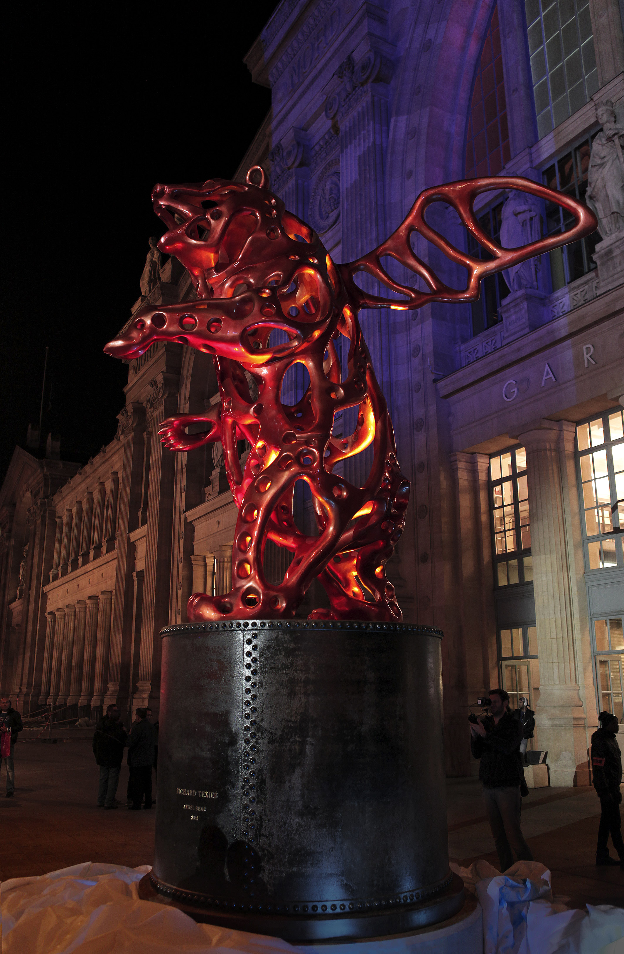 Richard Texier Sculpture Angel Bear
