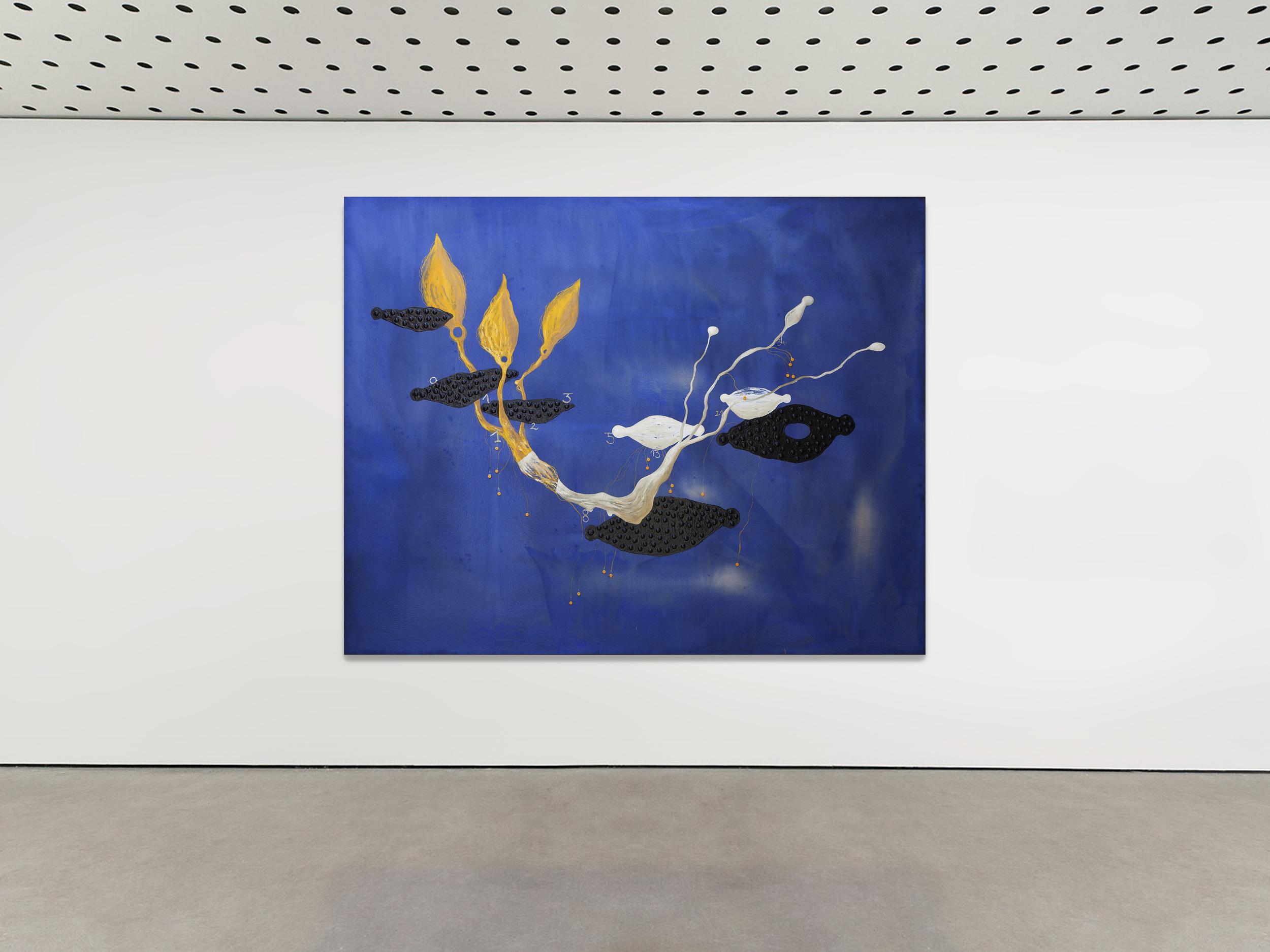 Richard Texier Modern Art painting exhibition 5