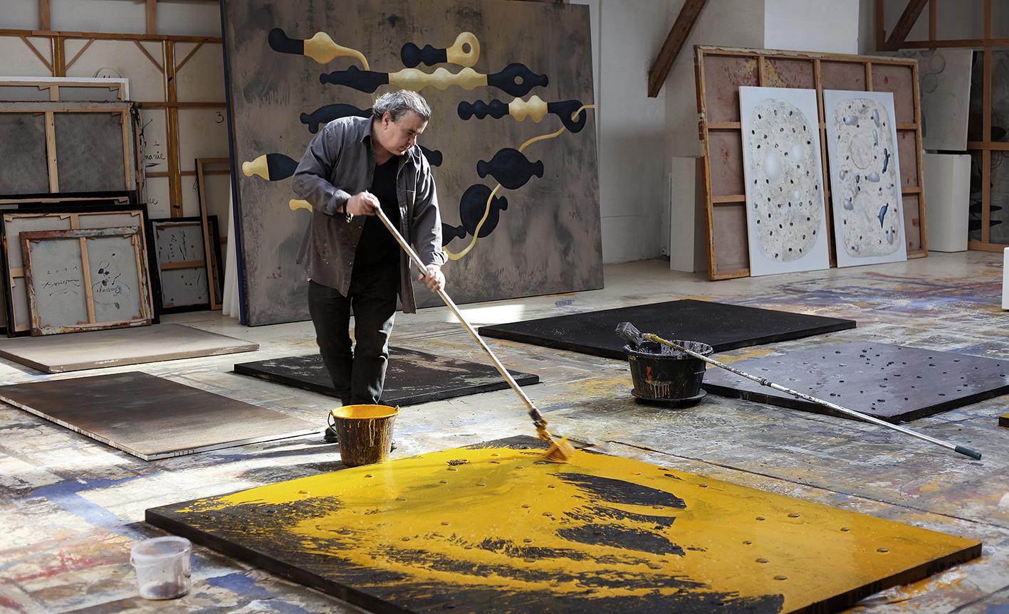 Richard-Texier-Artist-Art-Gallery-Portrait-Tannery-Studio-Paris-2013.jpg
