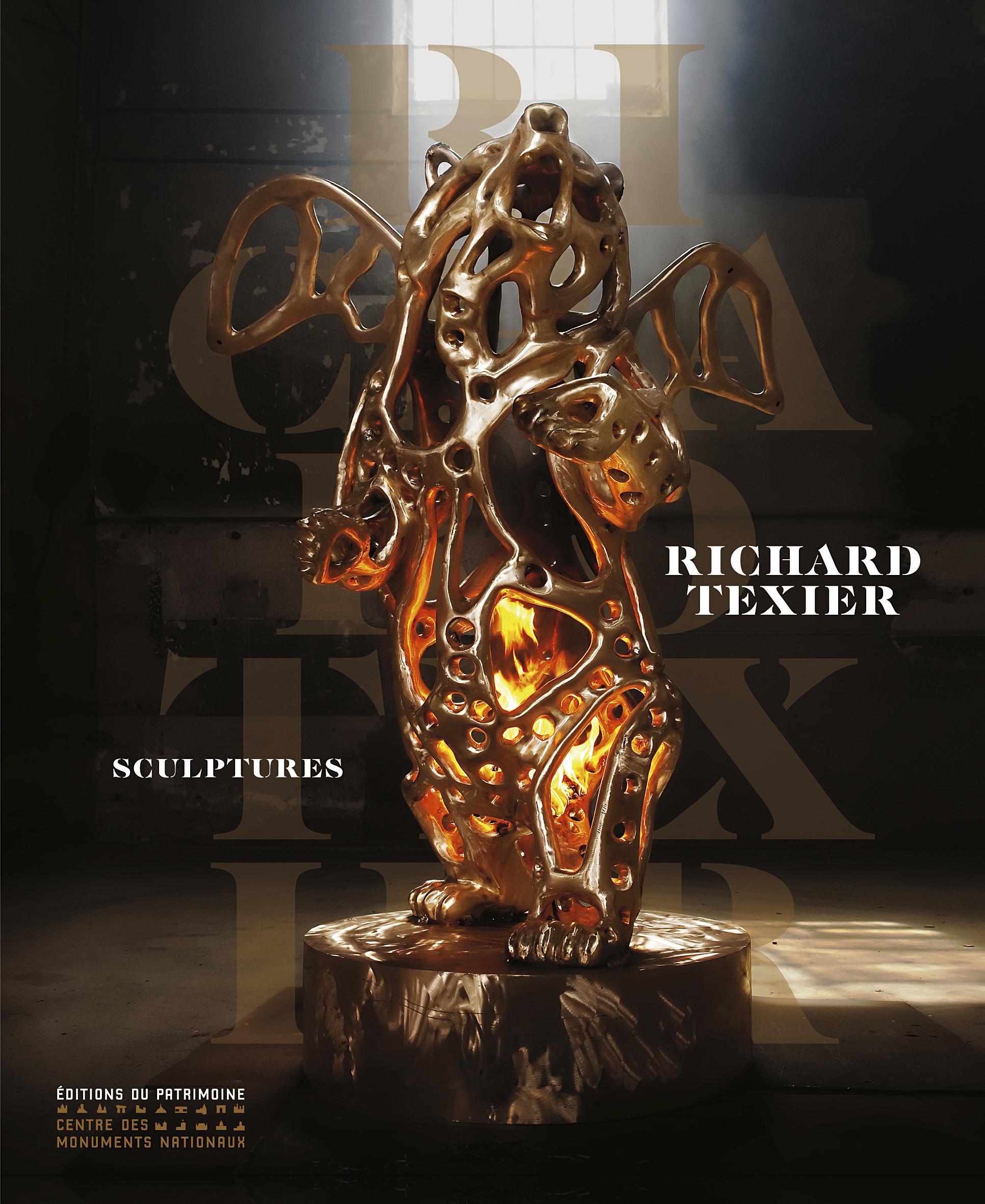 Richard Texier Sculpture Book of his art