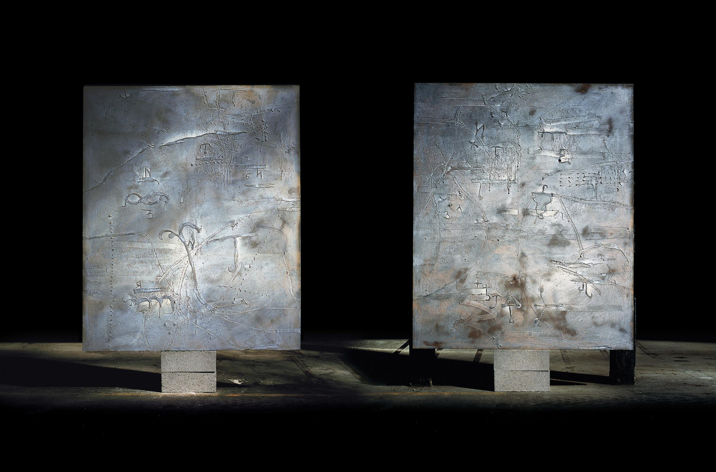 Richard texier Paintings In Workshop