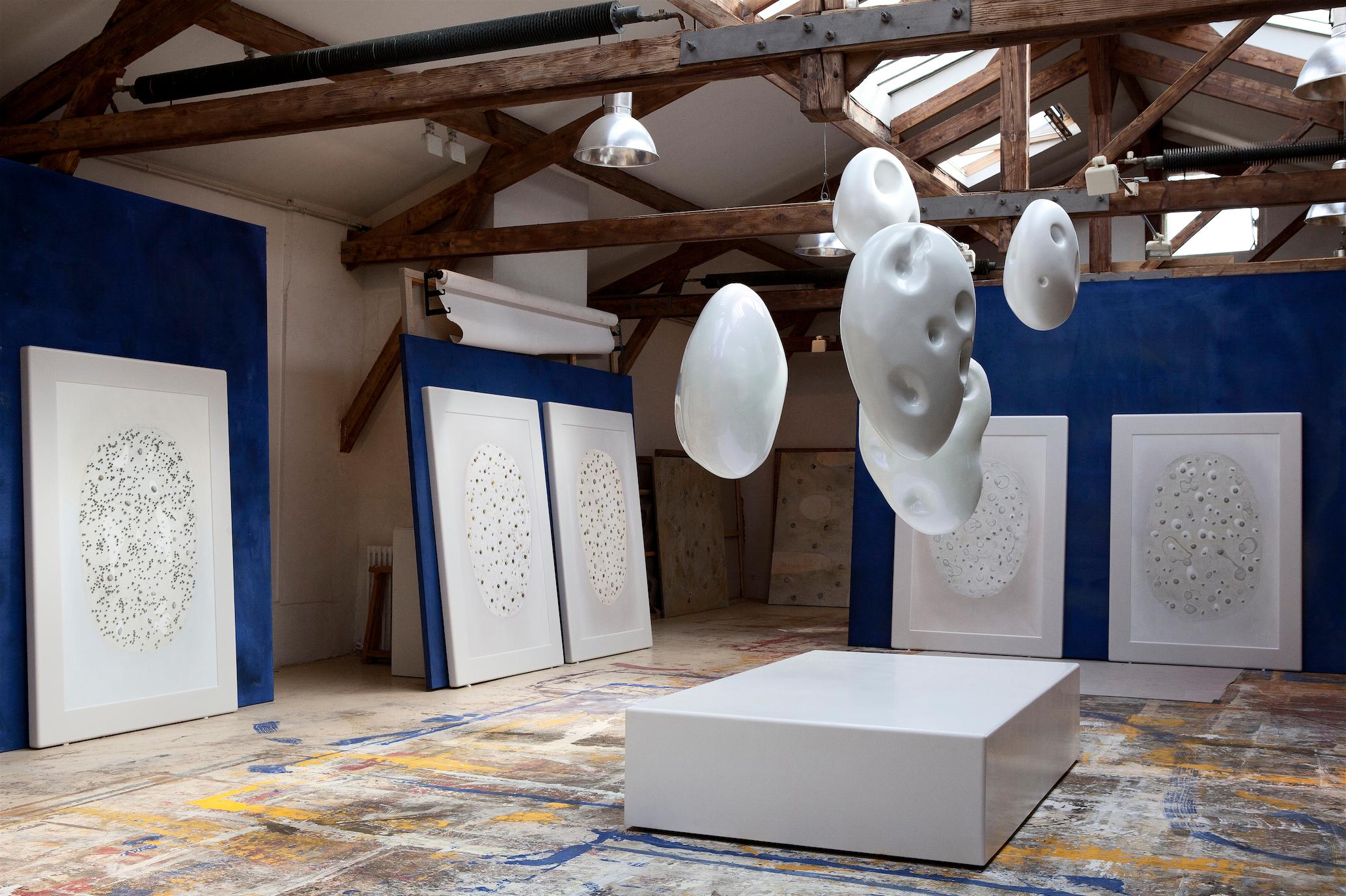 Richard Texier's studio - Atelier de Richard Texier