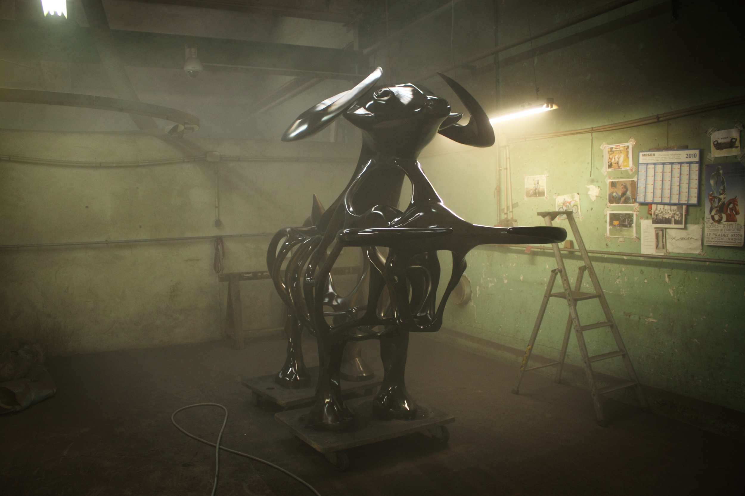 Richard Texier fonderie - Bronze casting