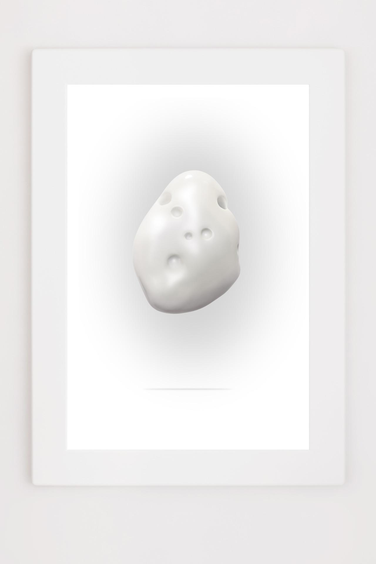Richard Texier - White stone