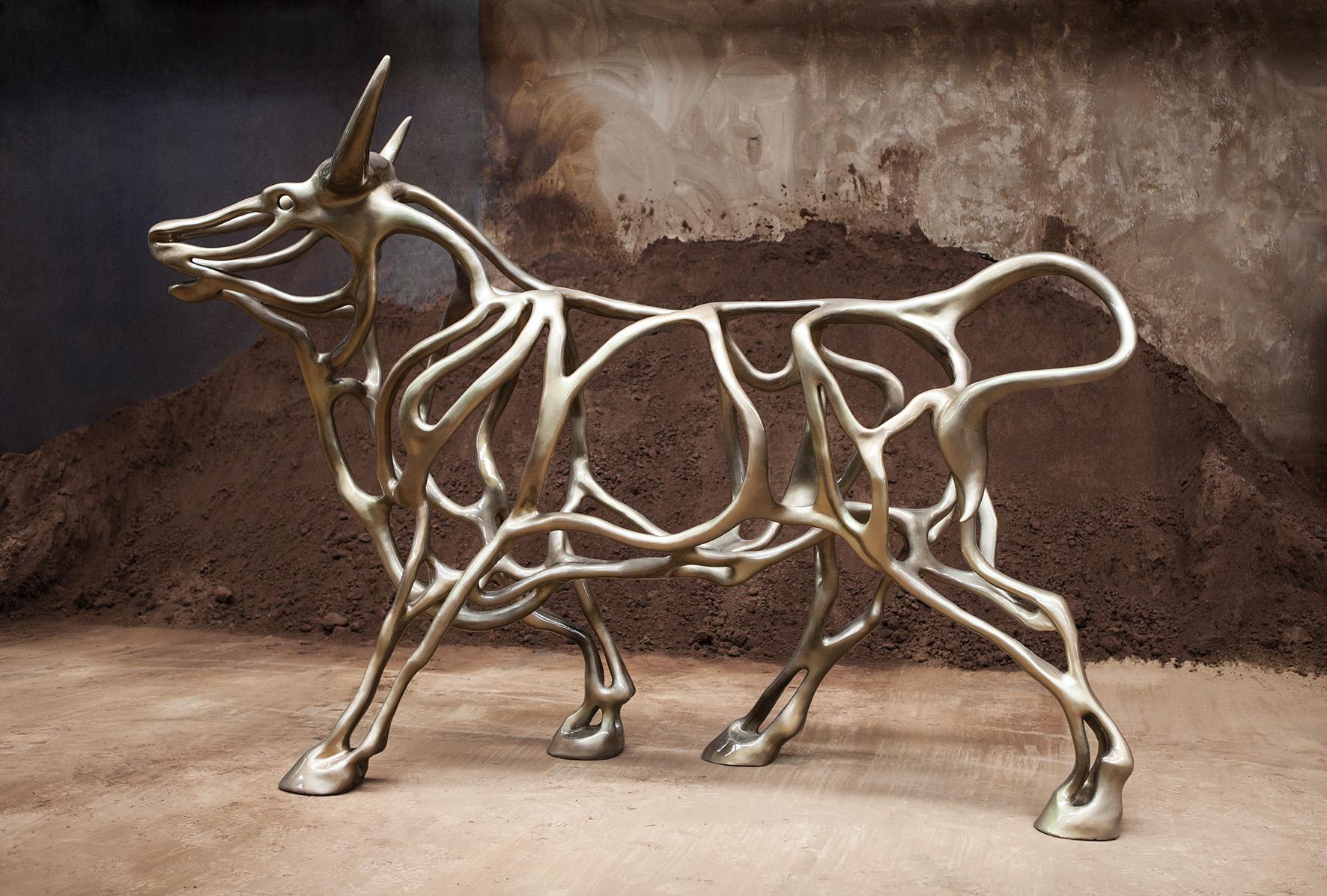 Richard Texier - Artist - Sculpture - Bull - 04 - 300x202x100cm - 2015_4.jpg