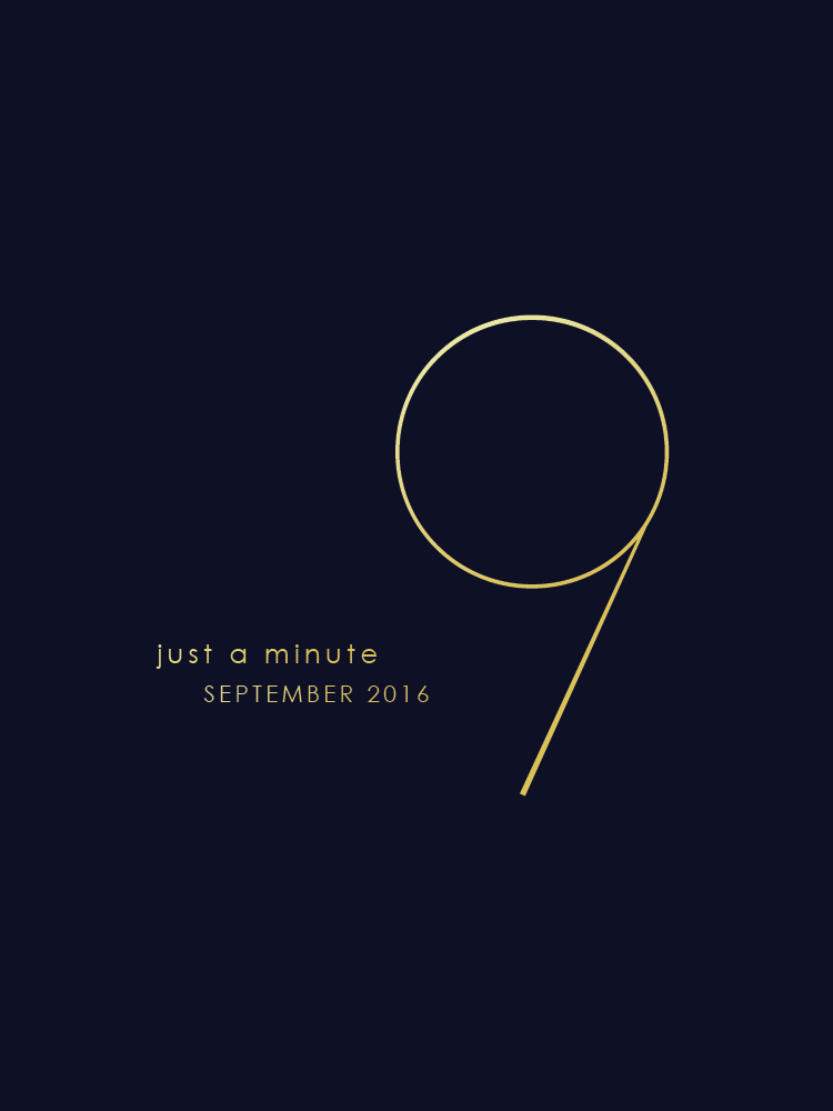 Just A Minute In September | A Beautiful Distraction