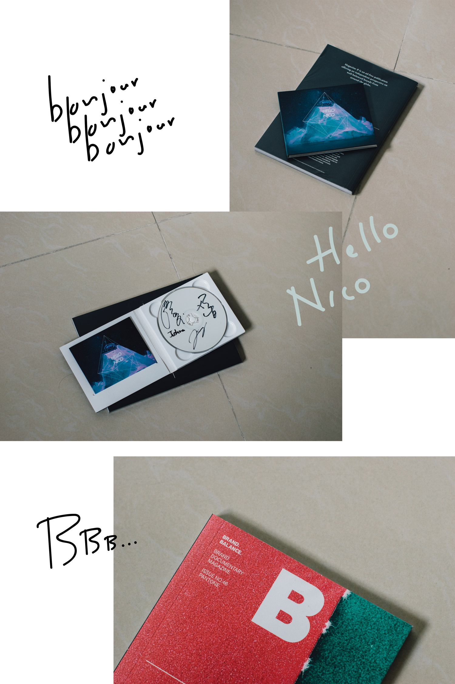 New In: Hello Nico - Familiar Desolation 熟悉的荒凉 + Magazine B - Pantone | A Beautiful Distraction