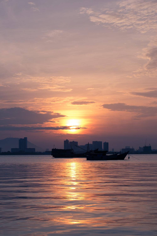 Sunrise Penang Malaysia 2016   A Beautiful Distraction