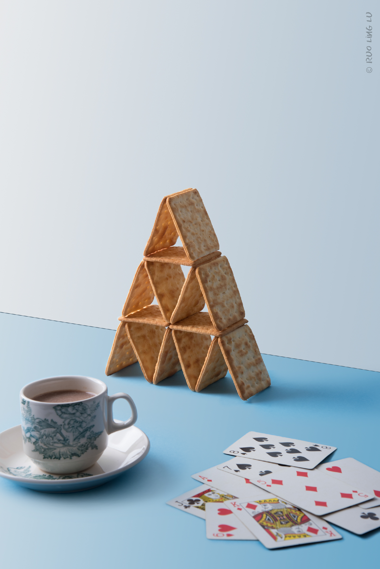 Child's Play: House of Cards by Ruo Ling Lu | A Beautiful Distraction by Ruo Ling Lu