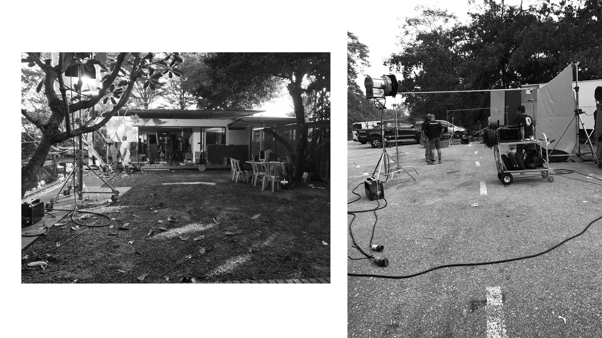 just another day on set. |  January - March