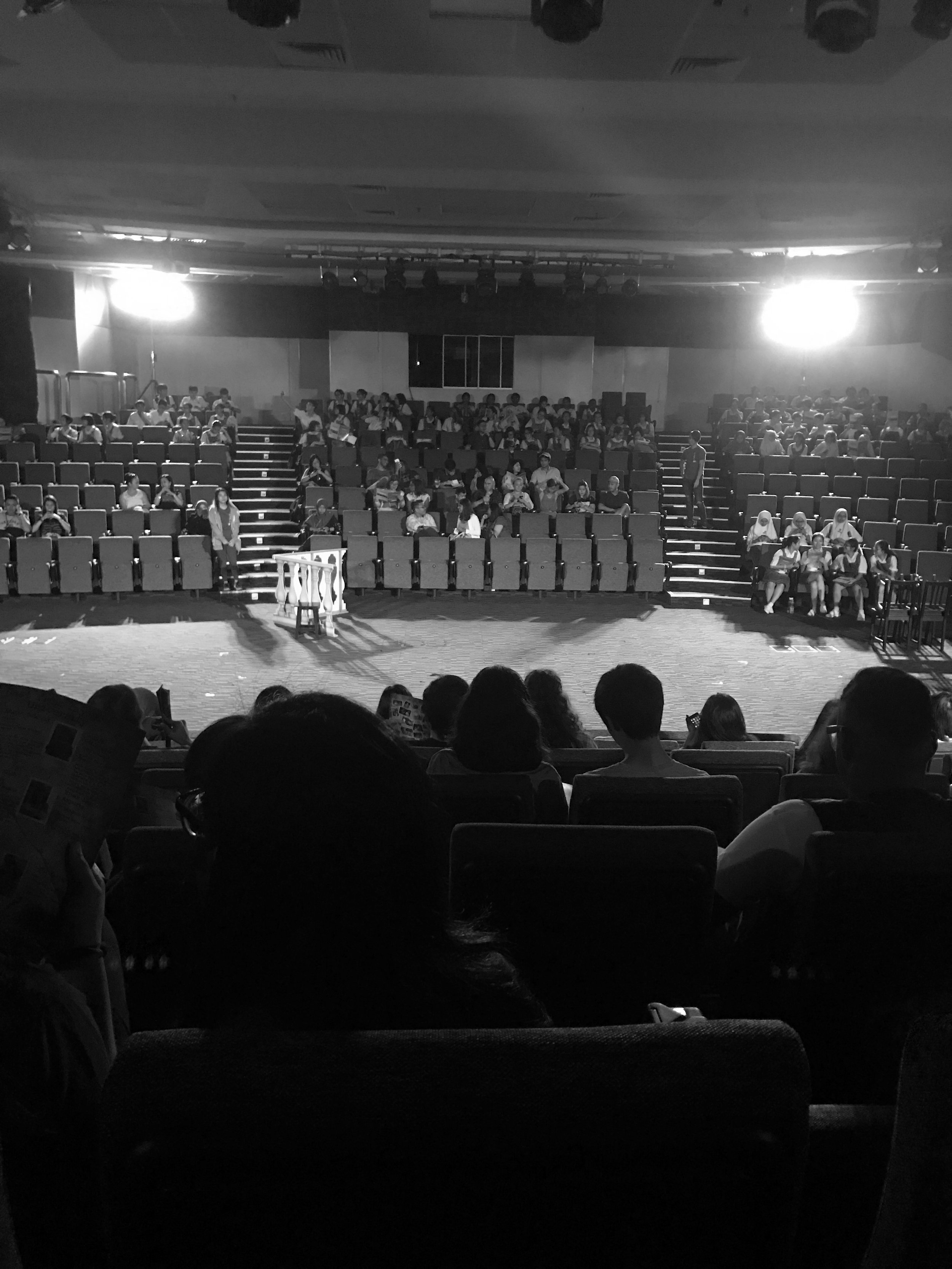 watching my first play. it was well done! |  July
