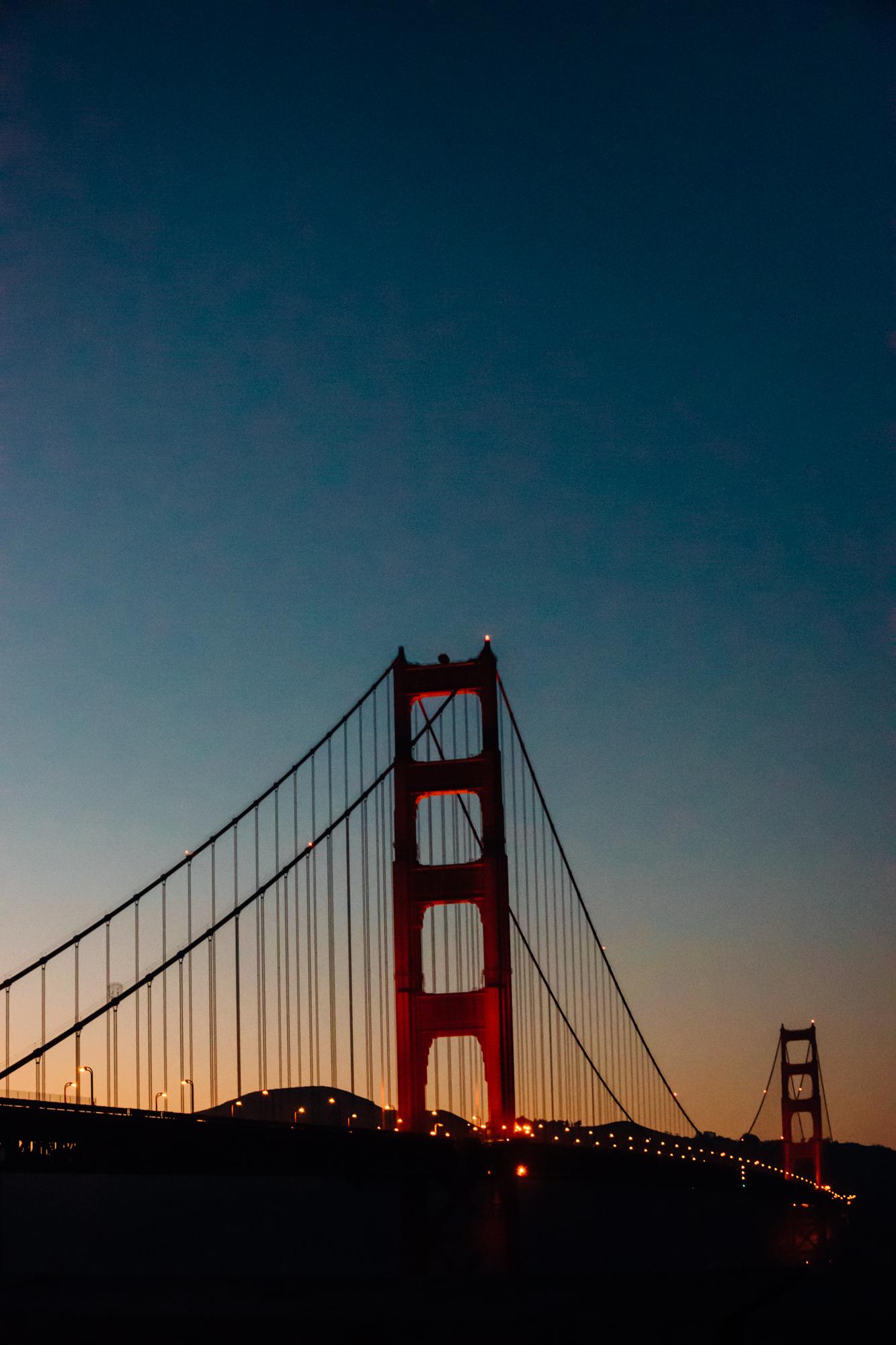Golden Gate Bridge San Francisco California USA | A Beautiful Distraction by Ruo Ling Lu