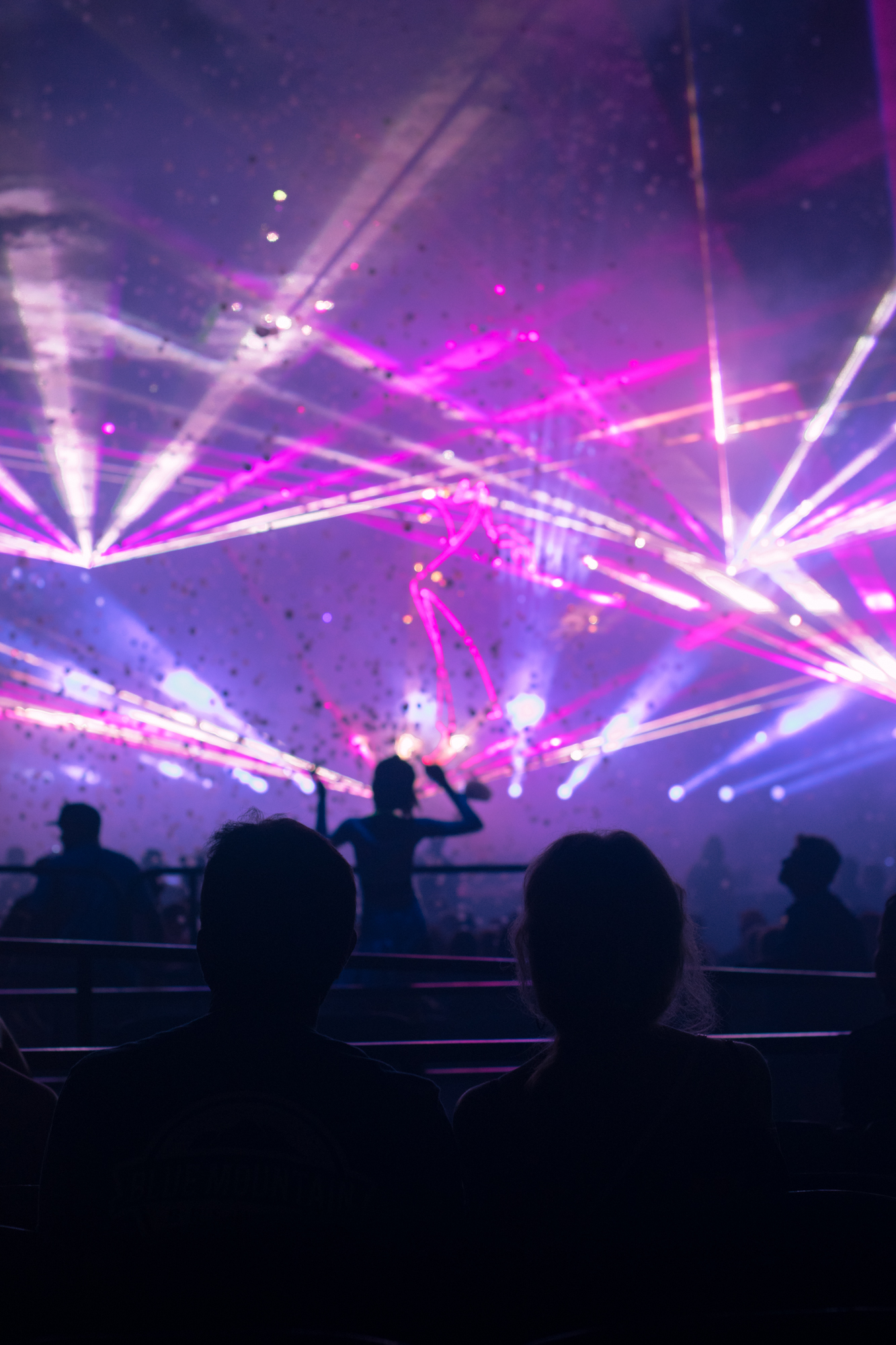 """laser show at Busch Gardens Williamsburg. a lot more exciting than the so-called """"club""""."""