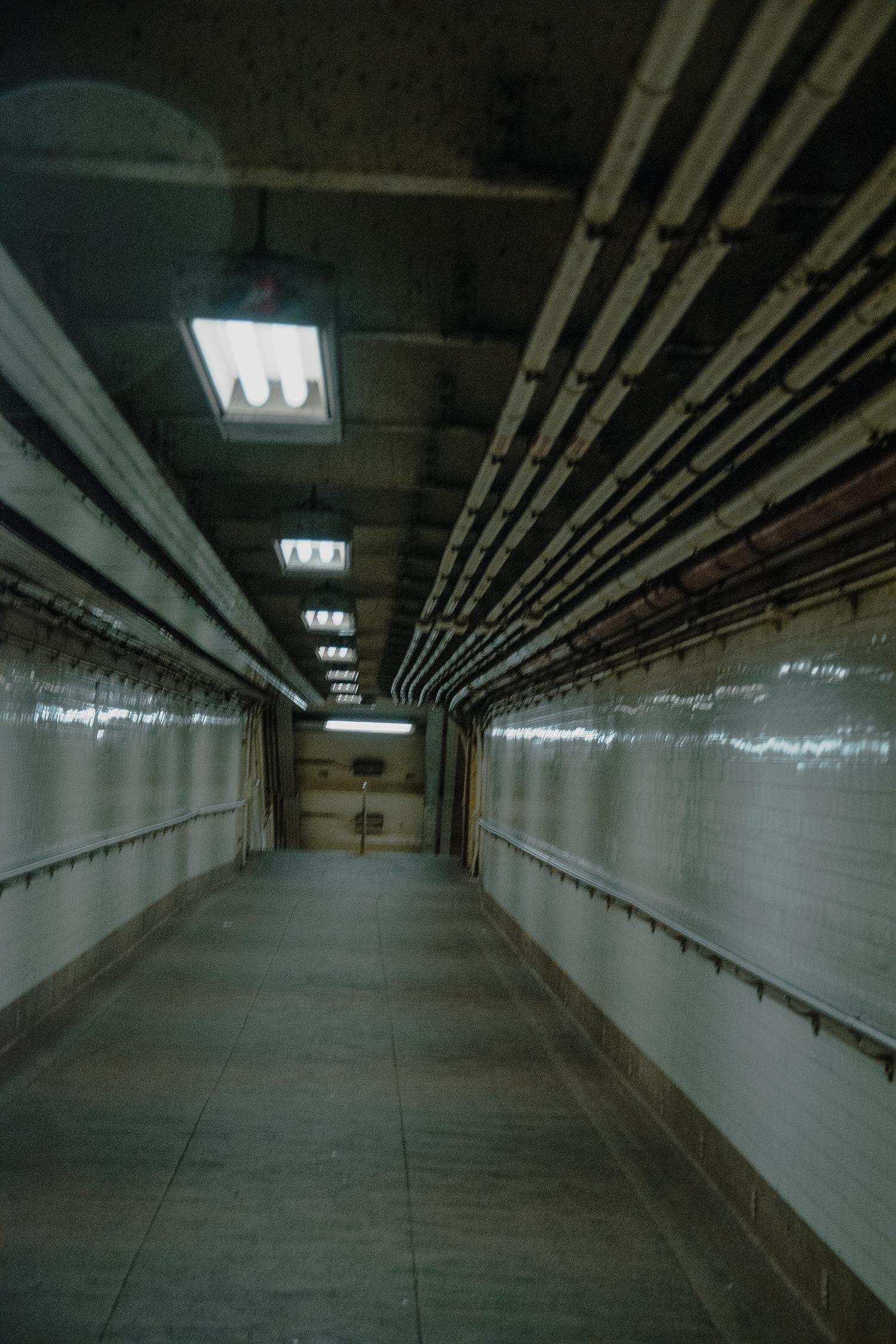 the  York Street Station underground.