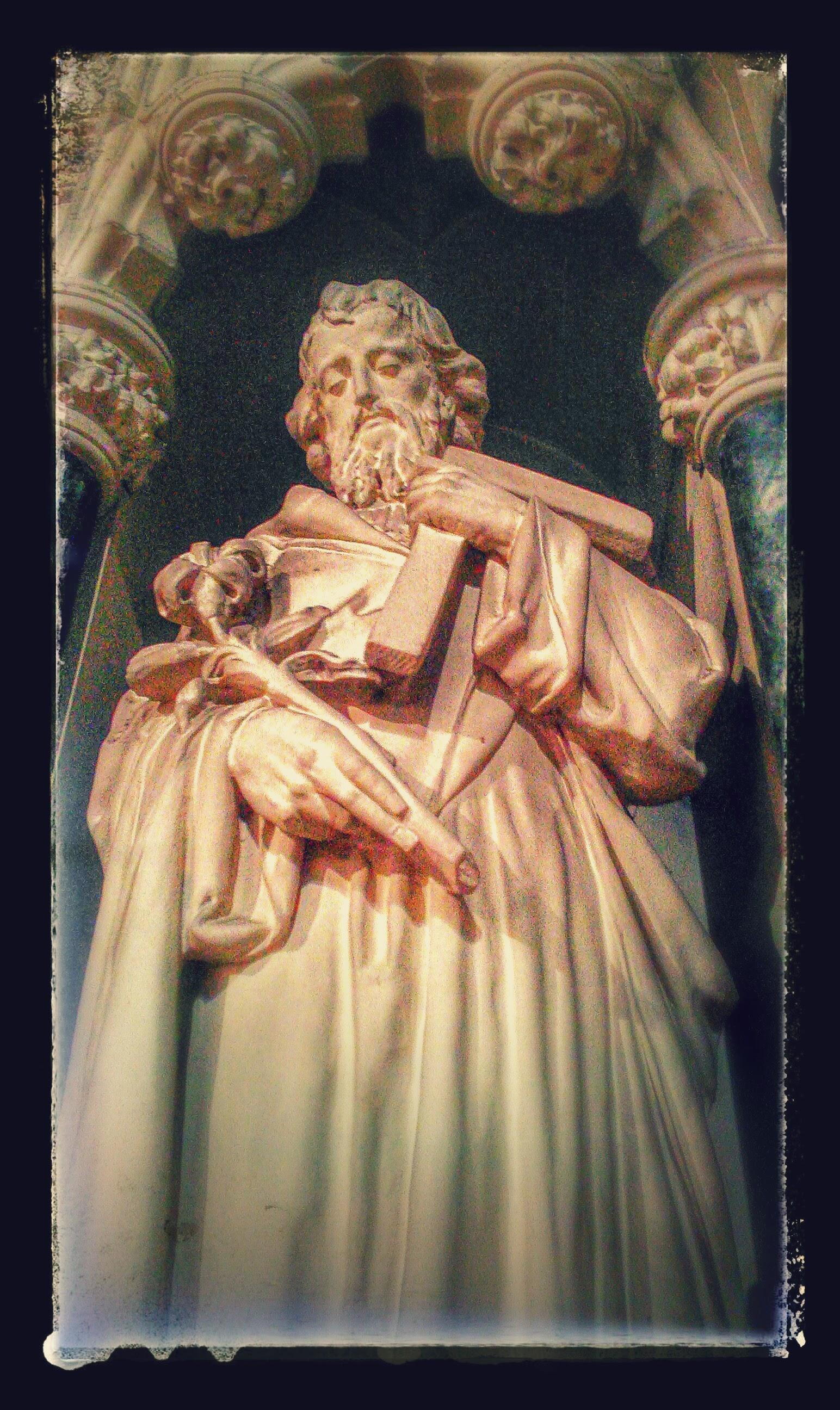 St Joseph, patron of the parish
