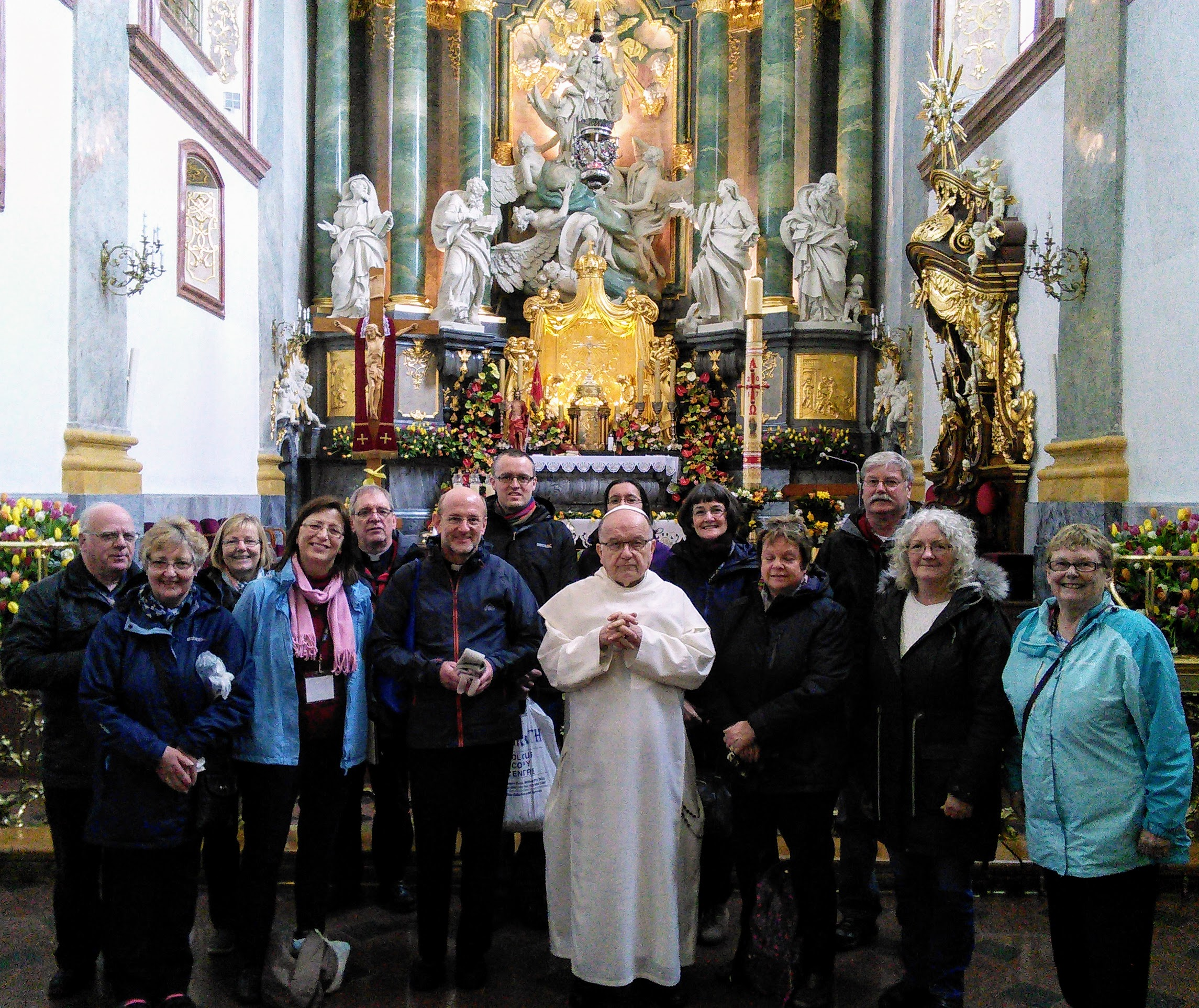 Our visit to Czestochowa, the national shrine to Our Lady.