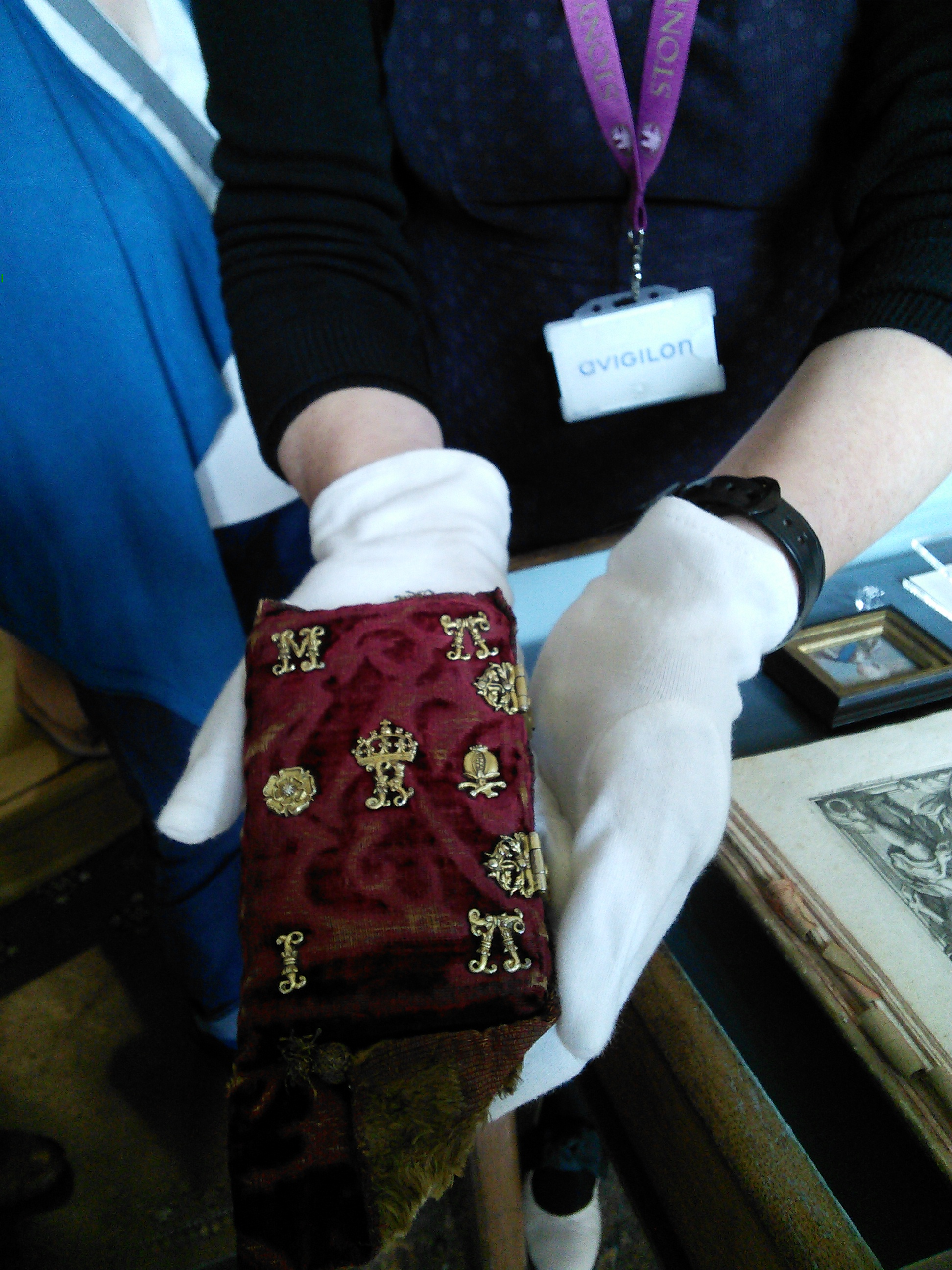 The prayer book of Mary Queen of Scots