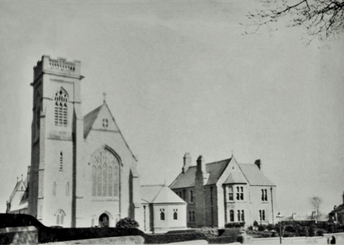 The church, upon its completion in 1901.