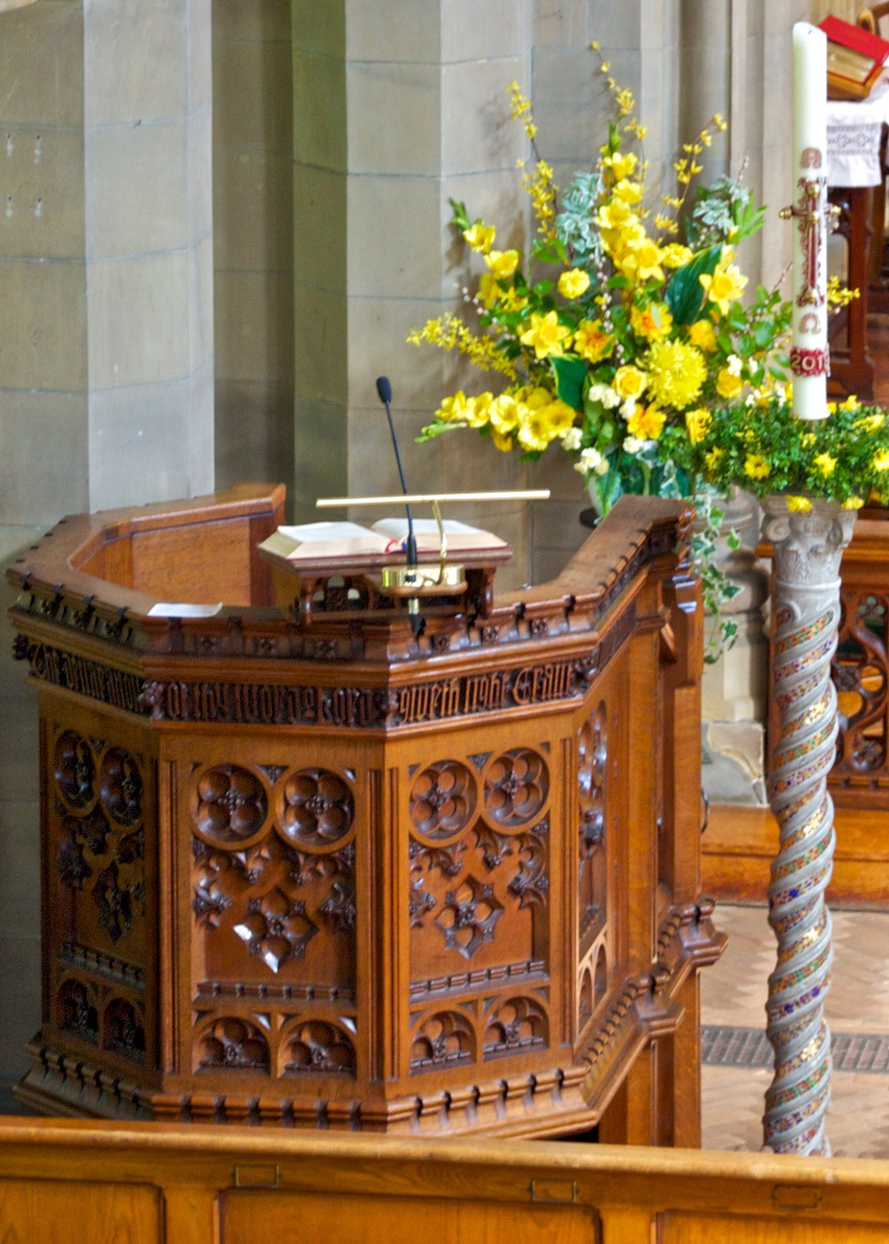The Gillow pulpit