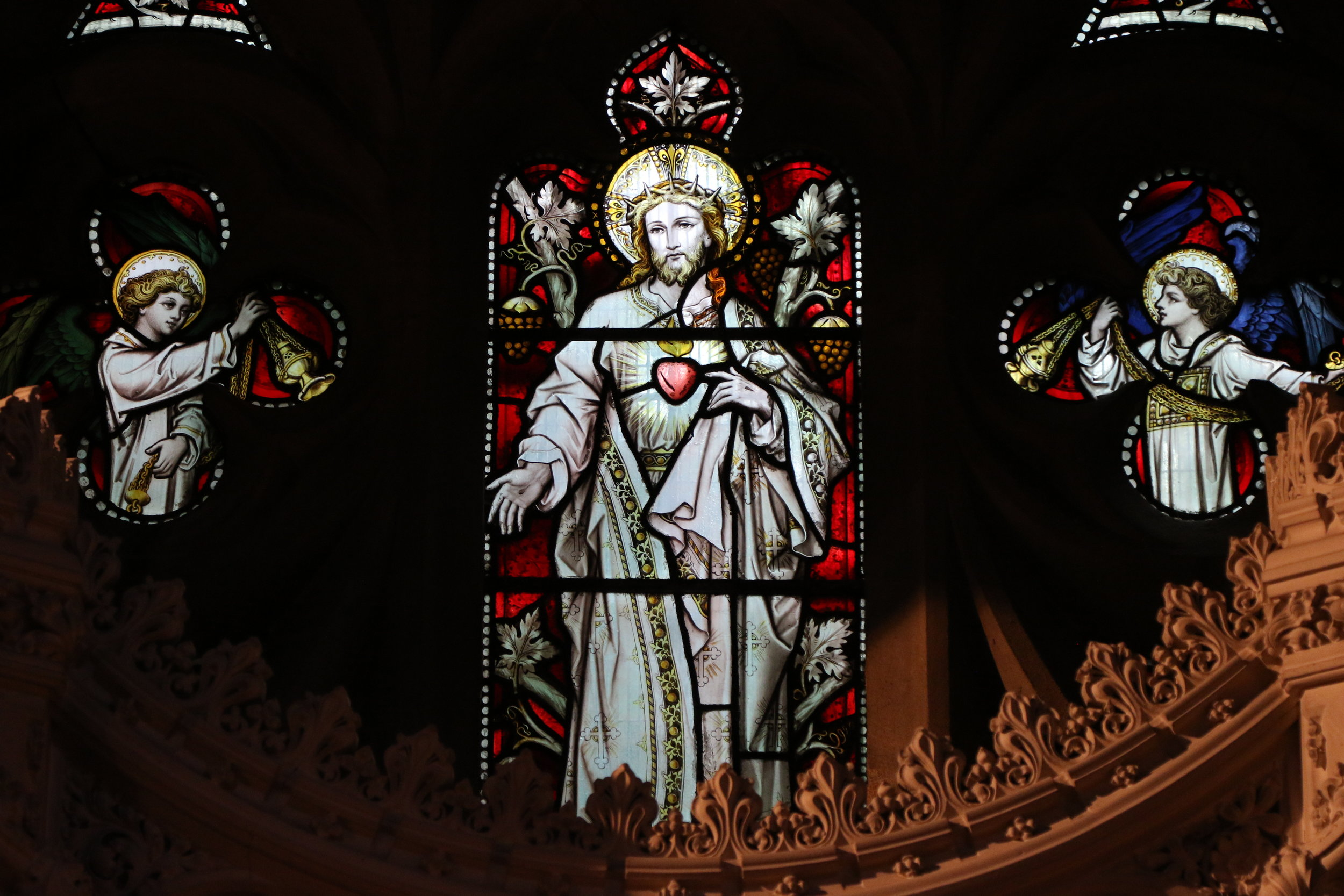 The Sacred Heart window