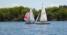 U of M Sailing Club. Reasonable dues for a co-op style sailing club offering lessons and fun events. Paddleboards, canoes and windsurfers also available.