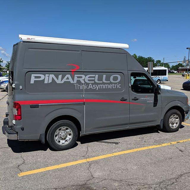 Pinarello Demo day is here! Come on out and try some bikes! @peterb_lostboy is here ready to get ya on a ride! . . . #pinarello #roadbike #gravelbike #timetoride #demo #bicycle #rad
