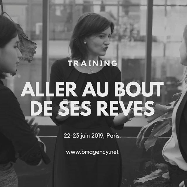 Un training de deux jours à Paris pour celles et ceux qui veulent enlever ses bocages et enfin transformer ses rêves en projets. Reserver votre place dès maintenant. Le 22 et 23 juin 2019.