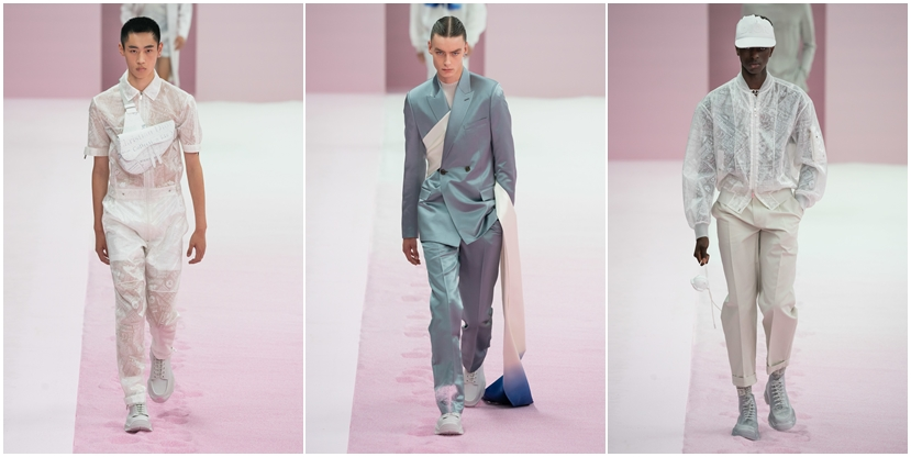 Source :  Vogue   Dior Men Spring 2020