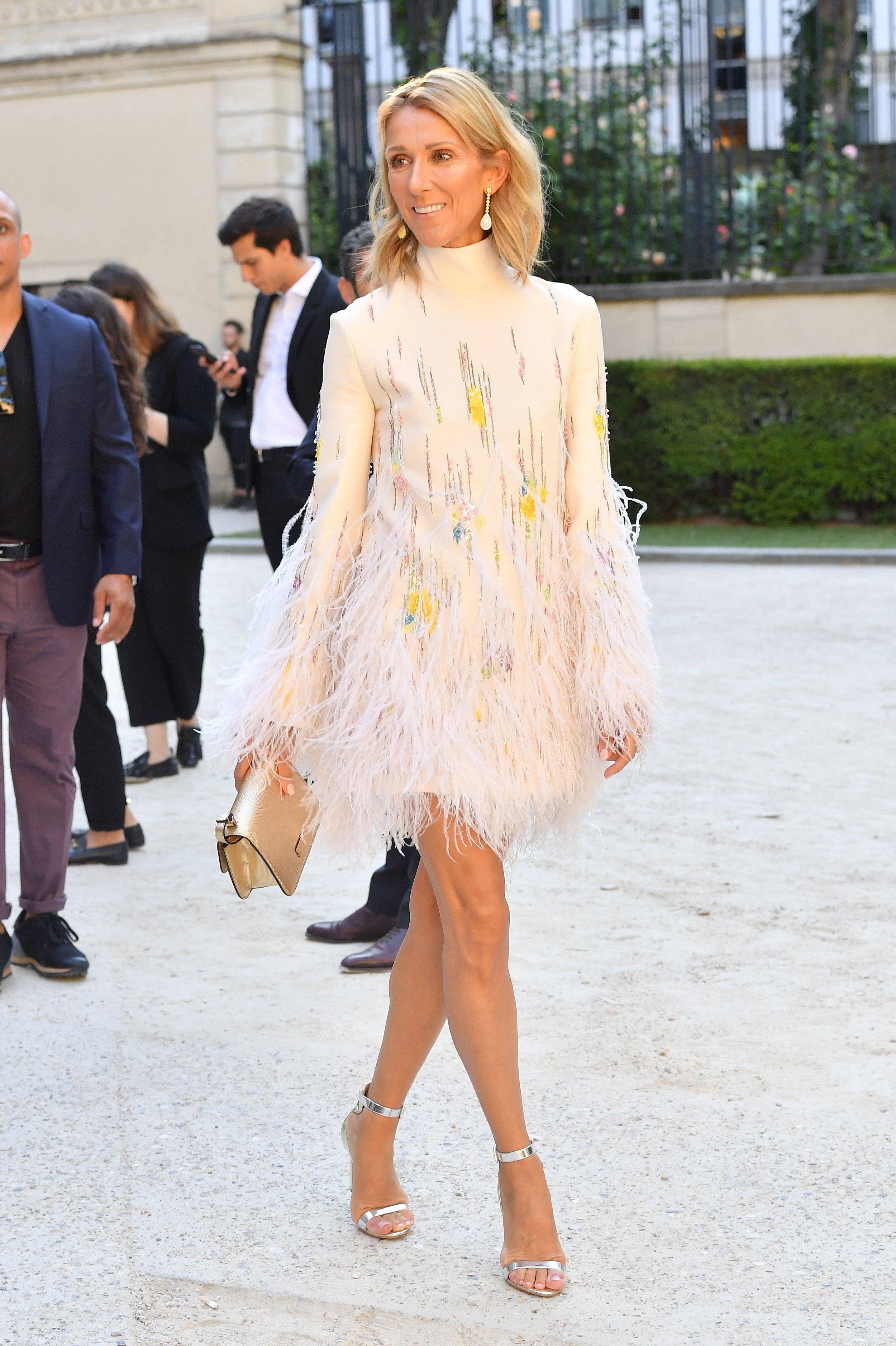 Céline Dion wearing Valentino  Source:  Harper's Bazaar