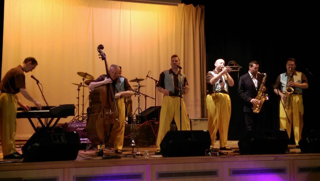 w/The Jive Aces, Callander Jazz Festival.