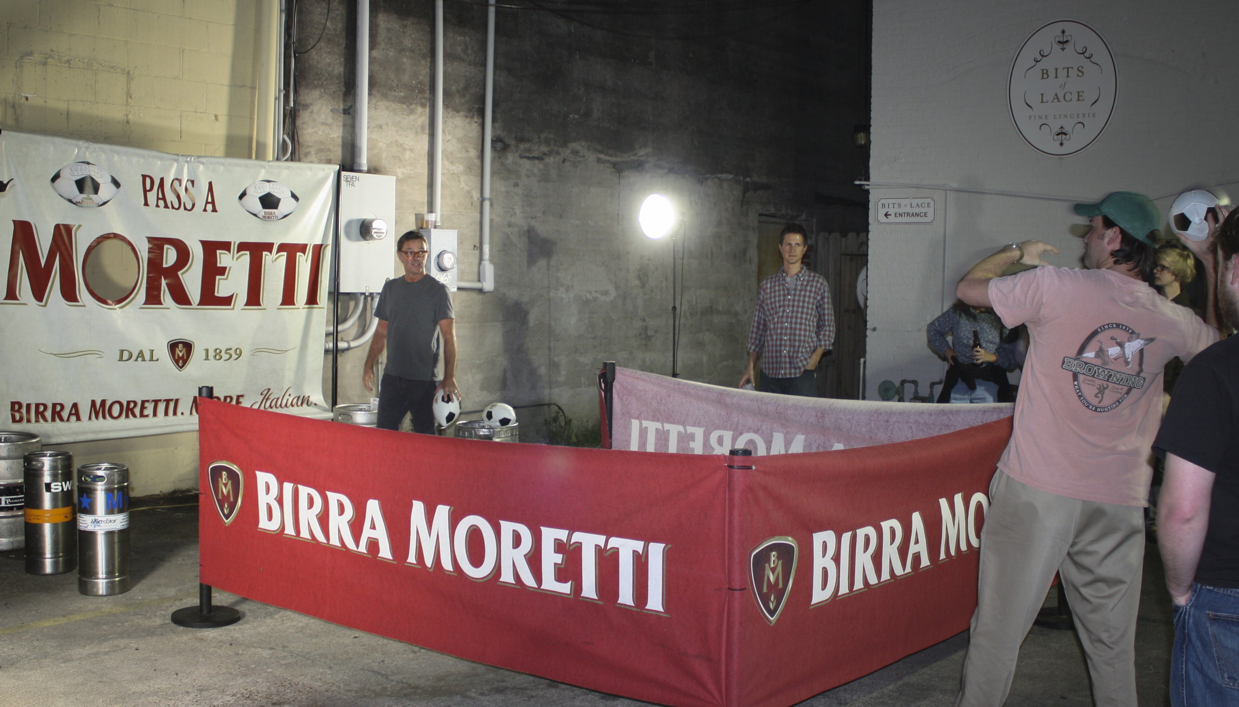 pass a moretti interactive campaign  who doesn't love birra and futbol?