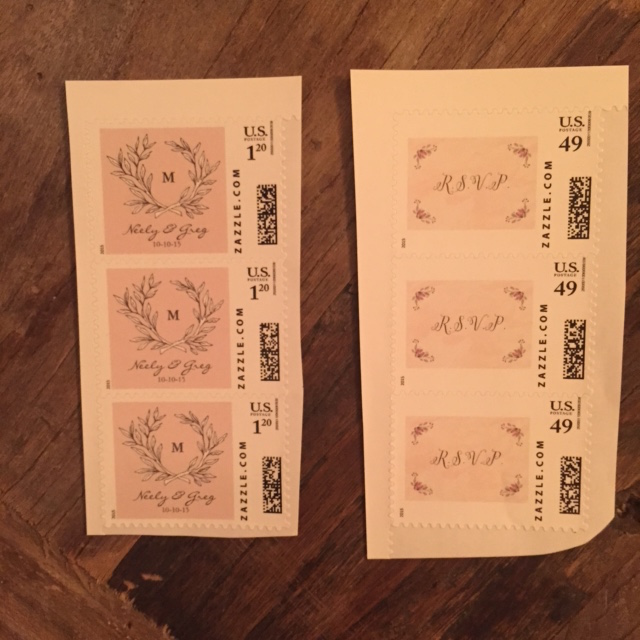 Custom Postage Stamps Ooh La Mode