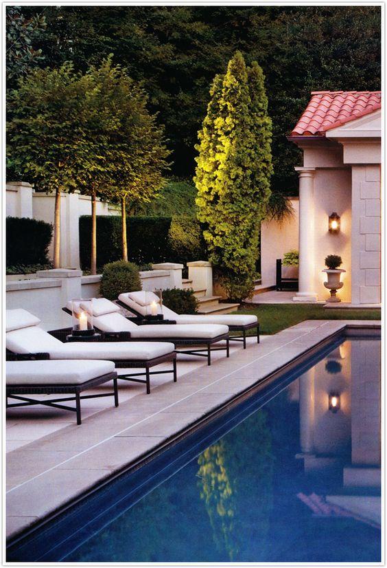 polished pool