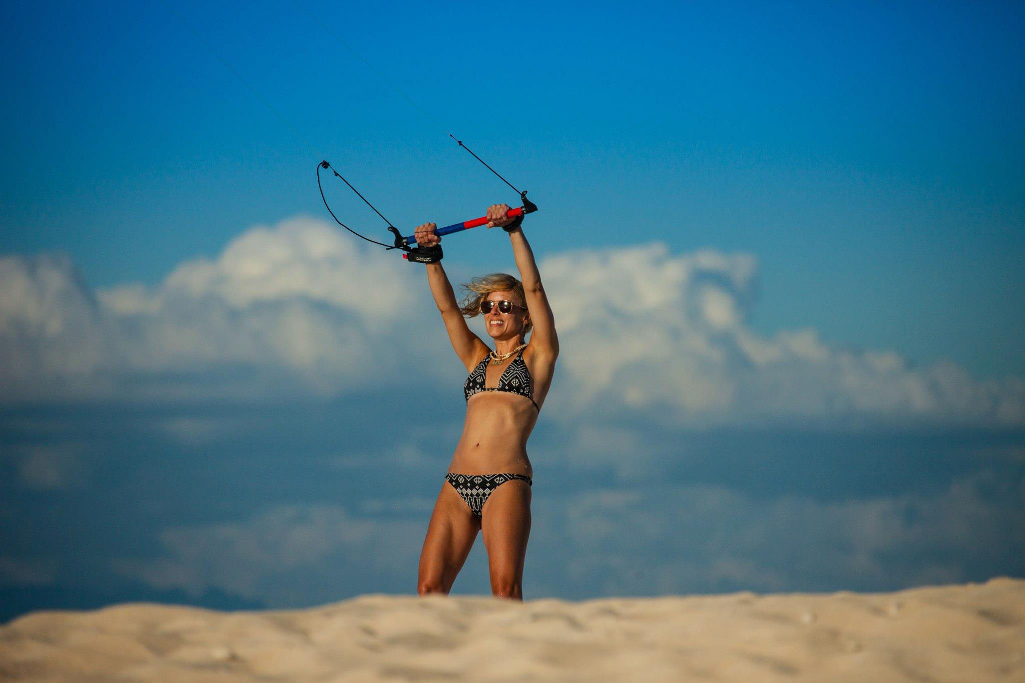 kitesurf (learn to fly the kite)