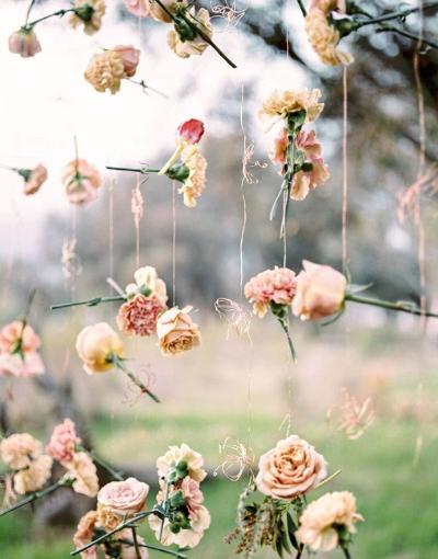 Hanging Single Flowers Ooh La La Mode