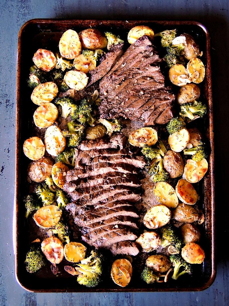 sheet-pan-steak