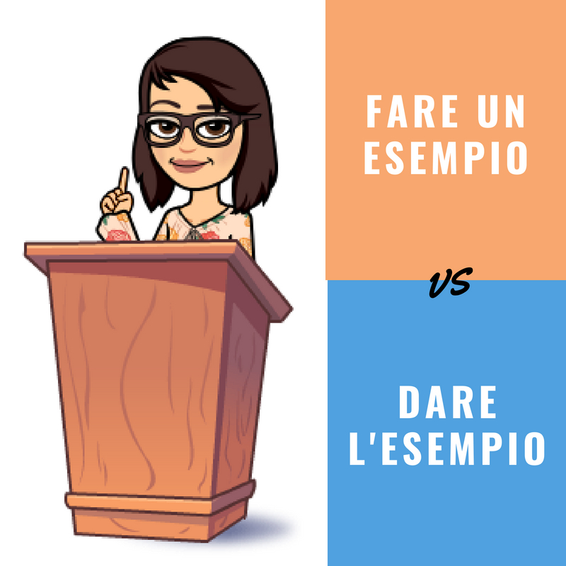 fare un esempio vs dare l'esempio.jpg