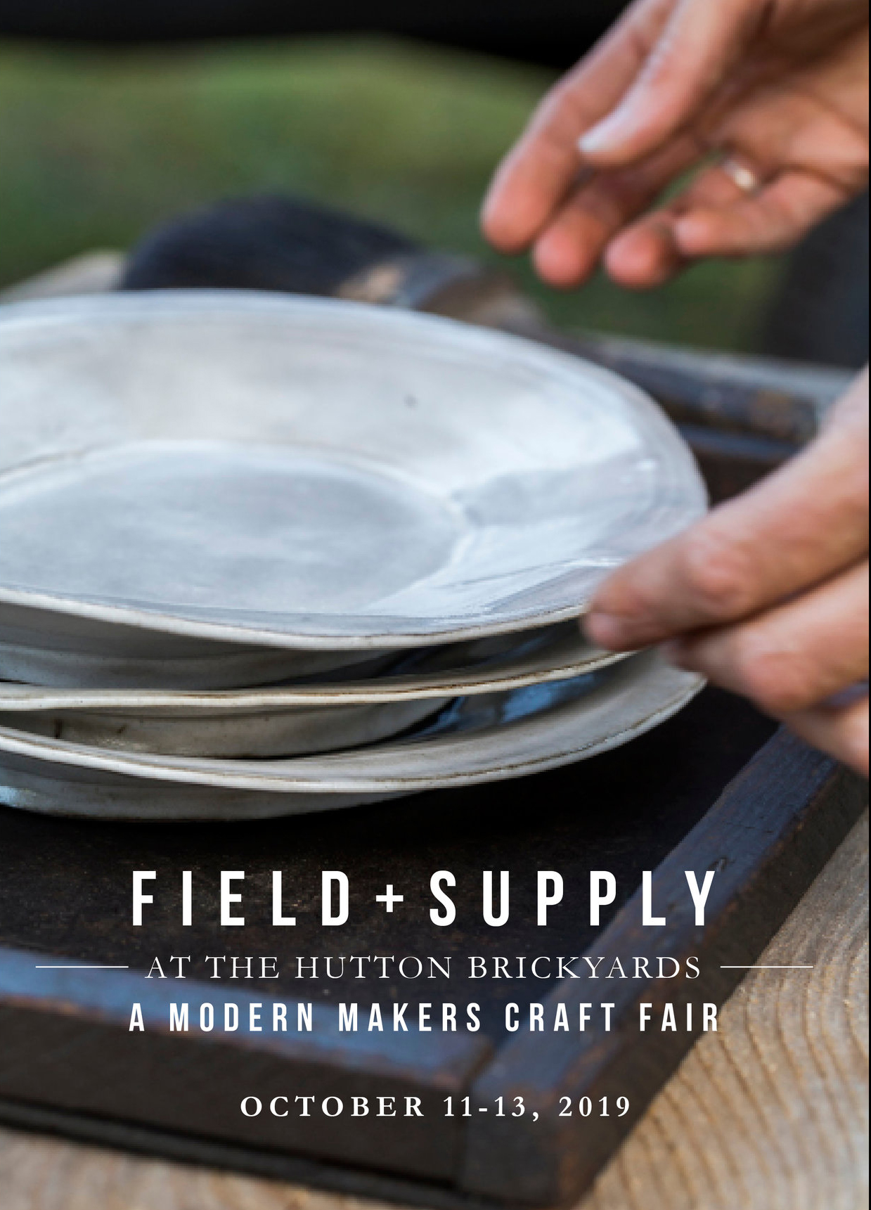 FIELD + SUPPLY Fall Market inKingston, NY - Friday - Sunday, October 11 - 13 (Columbus Day Weekend)Friday: 2:00 - 6:00pmSaturday: 11:00am - 6:00pmSunday: 11:00am - 5:00pmHutton Brick Yard @ 200 North Street, Kingston, NY 12401